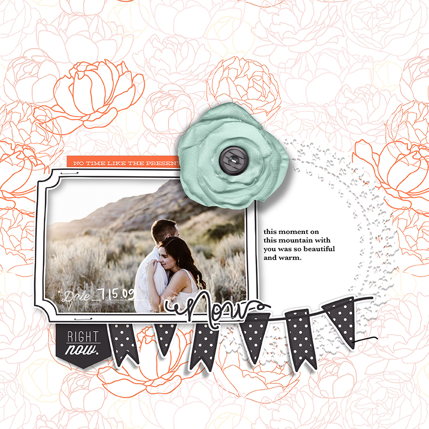 Want to scrapbook your special relationship on the go? I'll show you how I used the Right Now Digital Scrapbook kit to scrapbook in Procreate on my iPad.