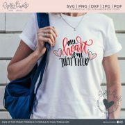 My Heart is On That Field Baseball SVG for Baseball Mom to craft the perfect t-shirt or tumbler or tote! This is the perfect gift for mom, your biggest baseball fan! This Baseball SVG design is super cute and features brush lettering for the quote and a baseball heart. This Sports SVG is the perfect mom gift to put on t-shirts, a coffee mug or a tote bag. Use this super cute design to craft fun projects, apparel, and gifts for your friends and family. Visit hollypixels.com.