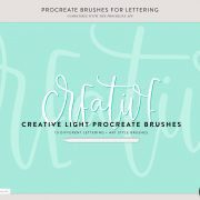 Procreate Brushes | Creative Light | By Holly Pixels 2