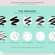 Procreate Brushes | Creative Light | By Holly Pixels 4