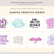 Procreate Brushes | Creative Light | By Holly Pixels 7