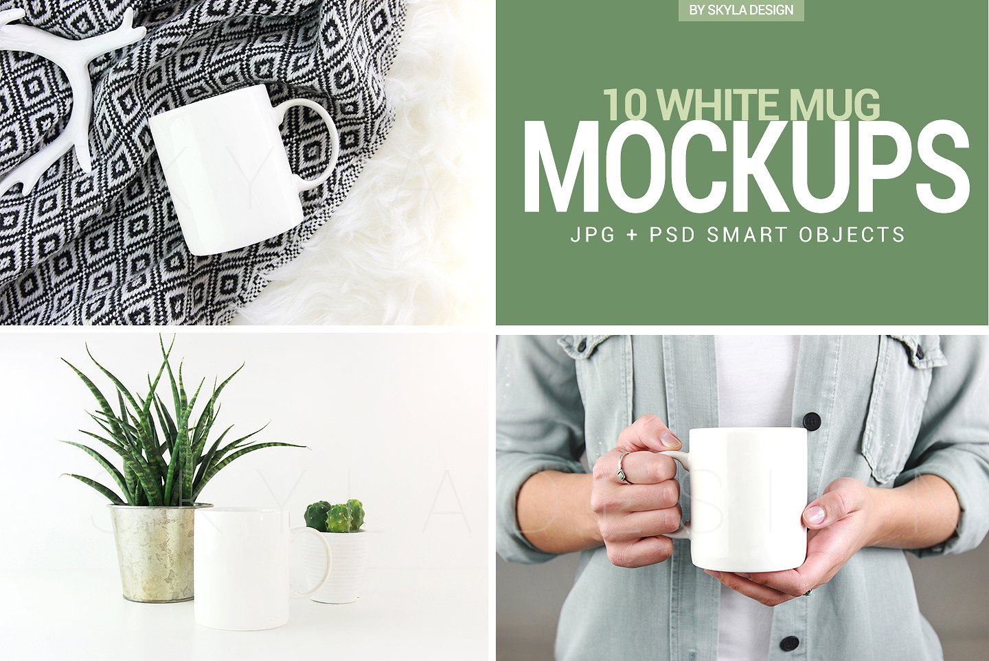 Skyla Design at Creative Market has a lot of modern and yet feminine (without being fru fru) mockup files. This set of coffee mugs is my latest go-to mockups I use for my lettering projects on Instagram as well as showcasing my SVG files for sale.