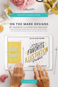 This week I take you on an illustrator's journey and show you the Illustration Brushes for Procreate by On the Mark Designs that be purchased at Creative Market. Every Tuesday I pick a new brush set for Procreate to buy and show you what you're getting. This series is completely my own thoughts and opinions and is not sponsored by the brush lettering designers.
