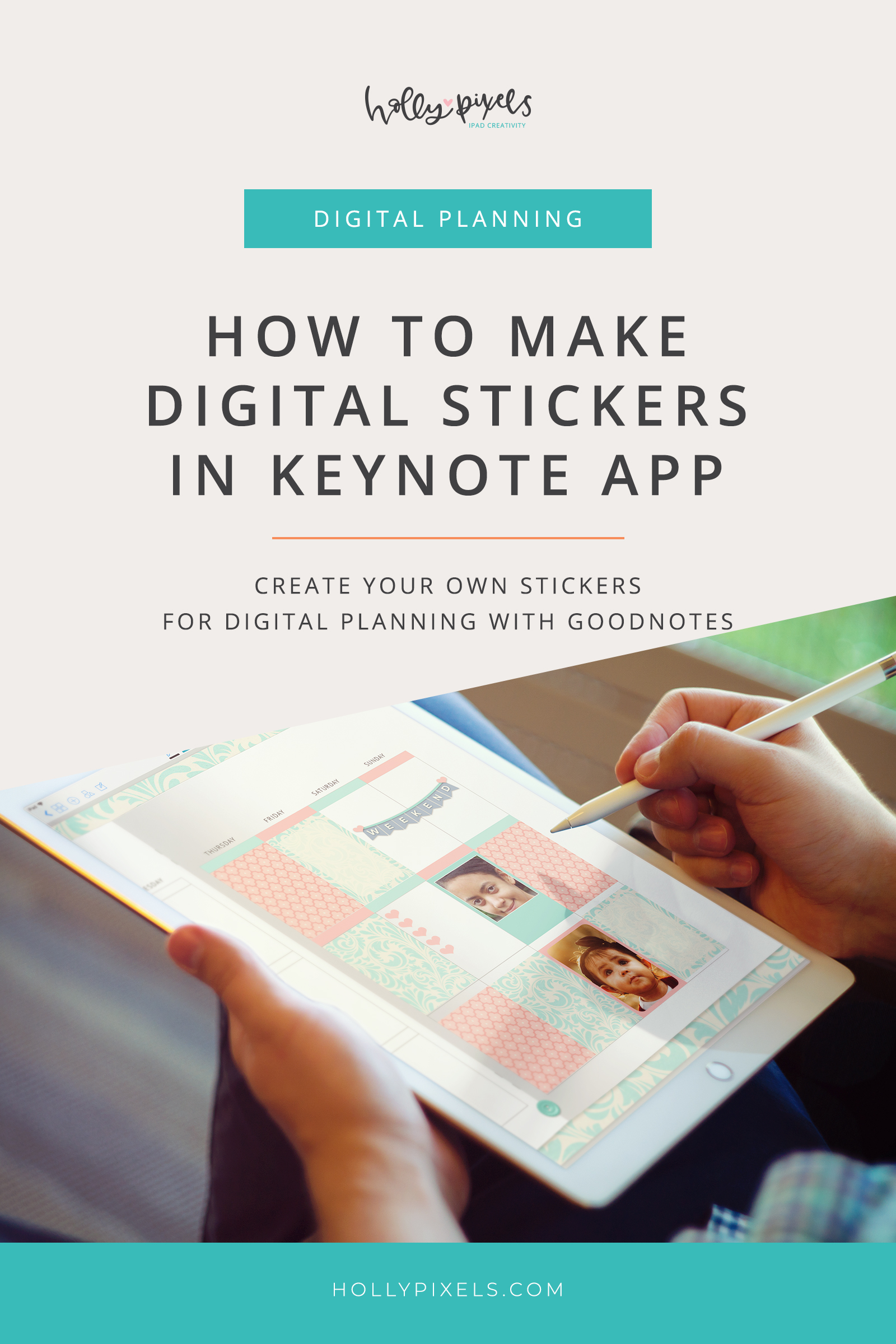 Did you know that you can use KeyNote to create digital stickers for GoodNotes planners? It's true! This tutorial will show you how to use KeyNote to make fun stickers that you can use in your GoodNotes planners to customize your planning in a fun way!