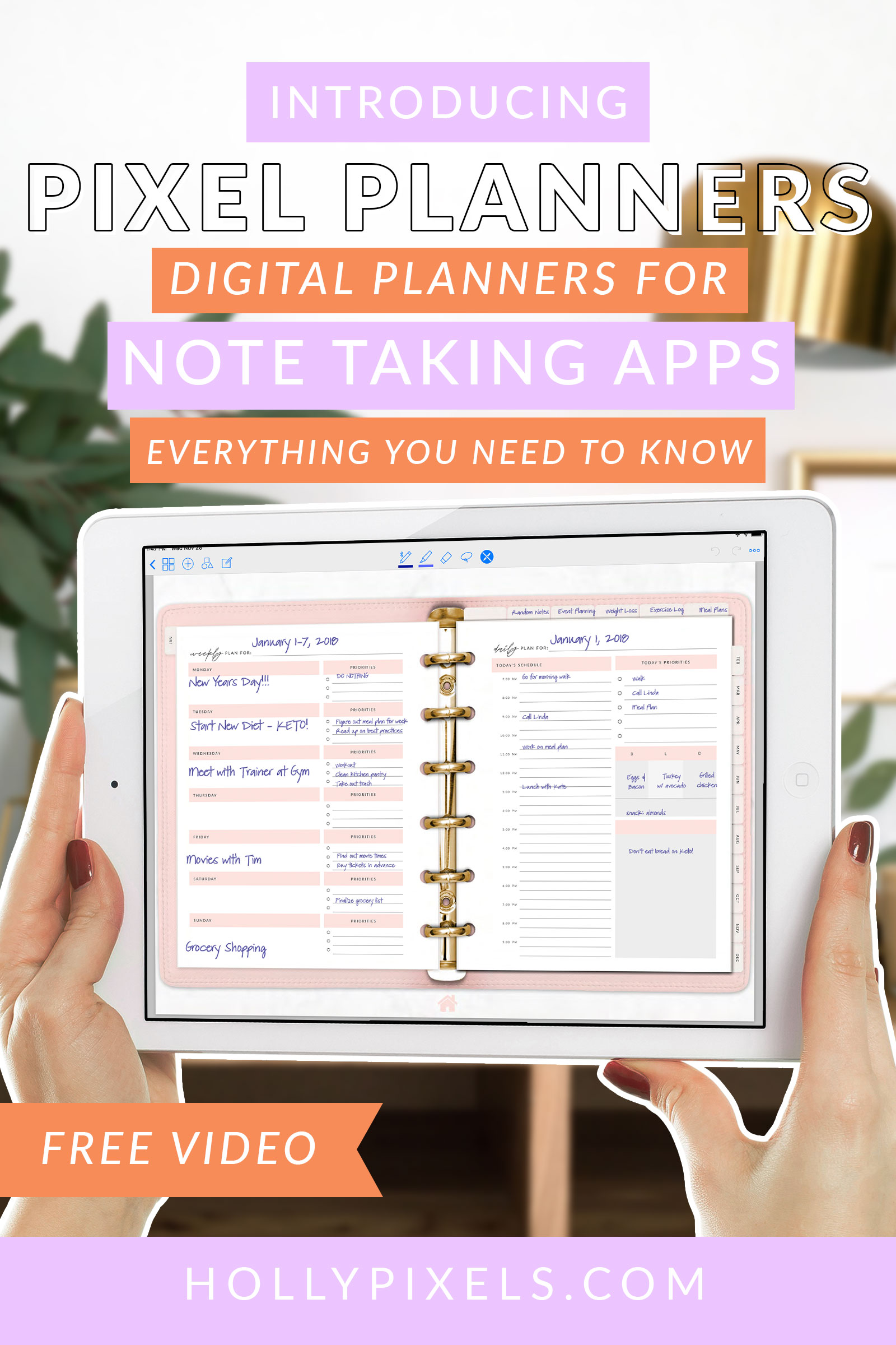 digital-planners-for-ipad-goodnotes-pixel-planner-by-hollypixels-pinterest