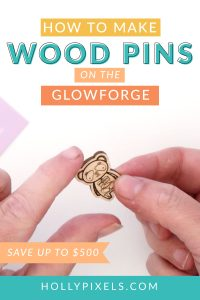 I've really wanted to show you how you can create engraved wood pins on the Glowforge from Illustrator. And, I am proud to say I finally filmed it all and have it ready! WOOT!