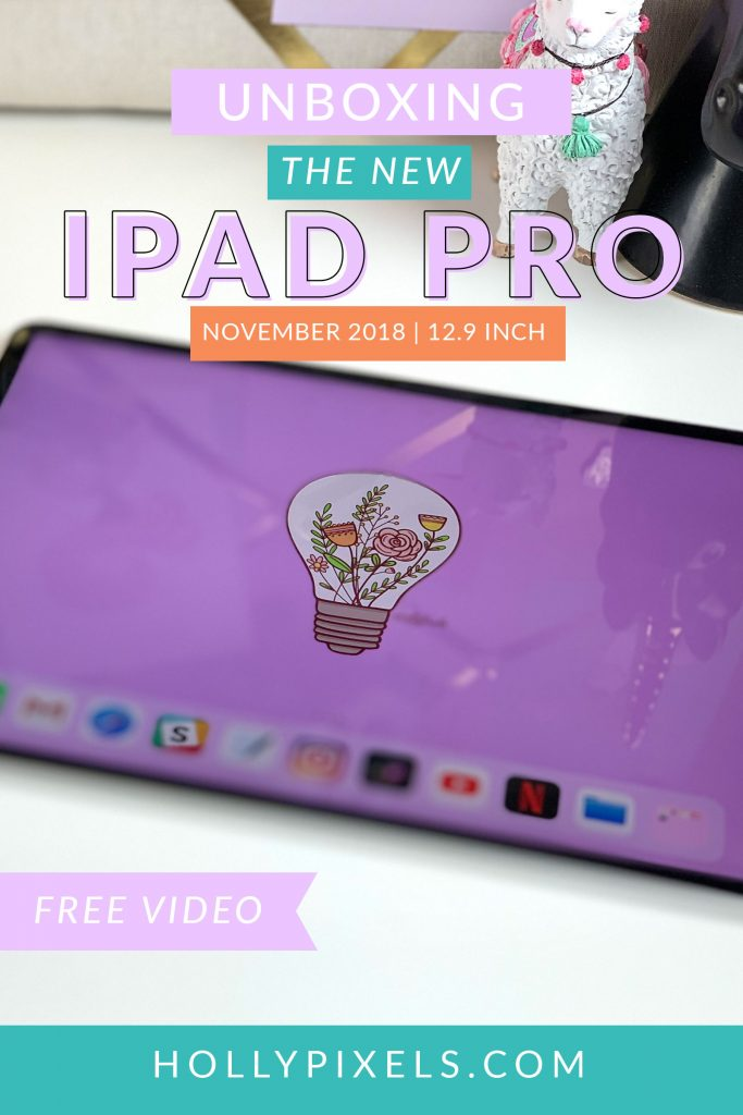 I just got the new iPad Pro 12.9 inch model and I wanted to take you through the unboxing of the new iPad Pro and how I set it up. In this video I will show you!
