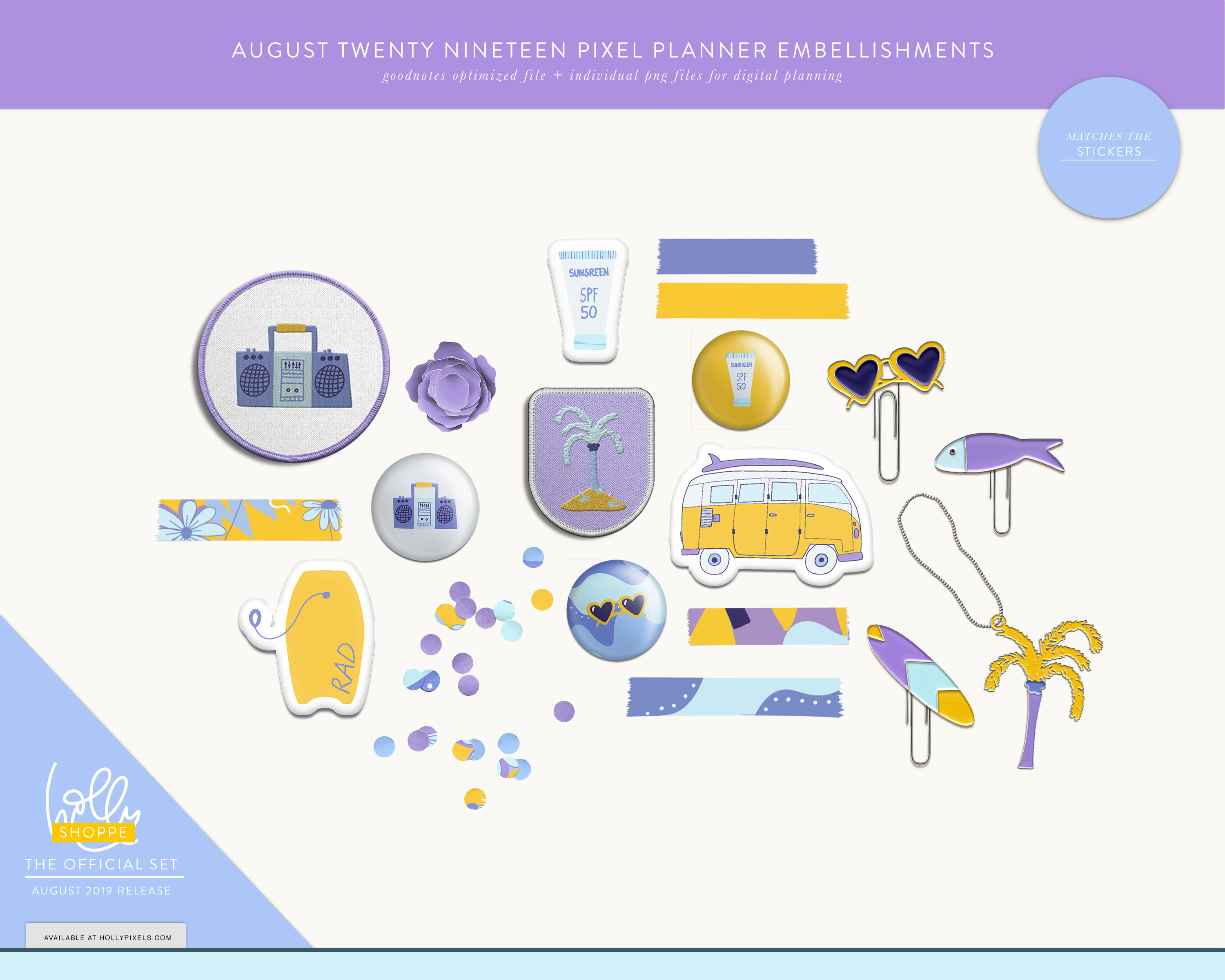 Plan Cute in August with Your Digital Planner 3