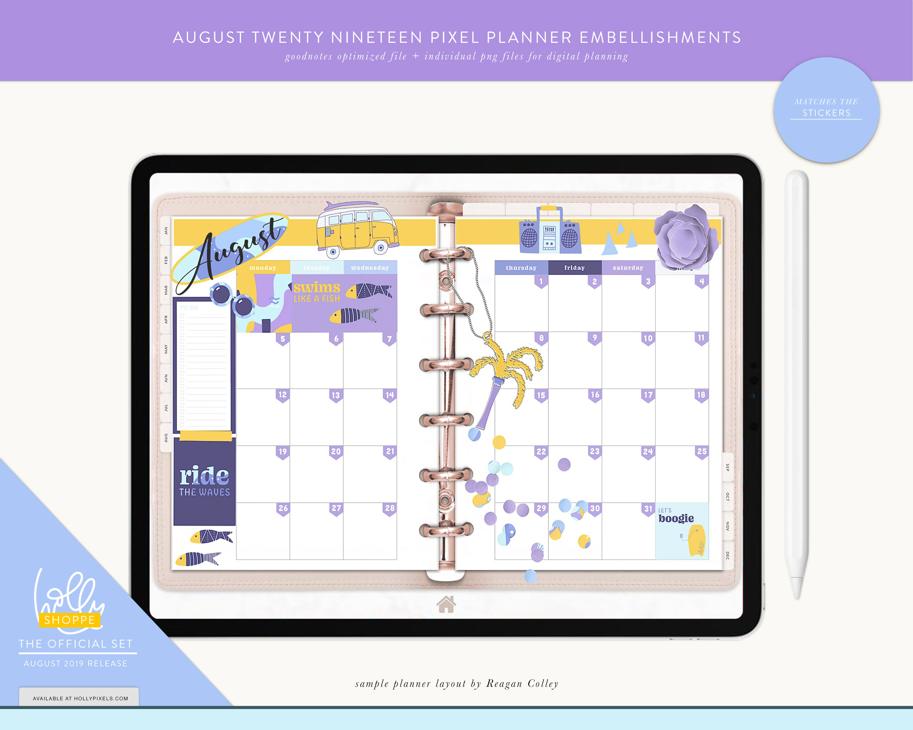 Plan Cute in August with Your Digital Planner 8