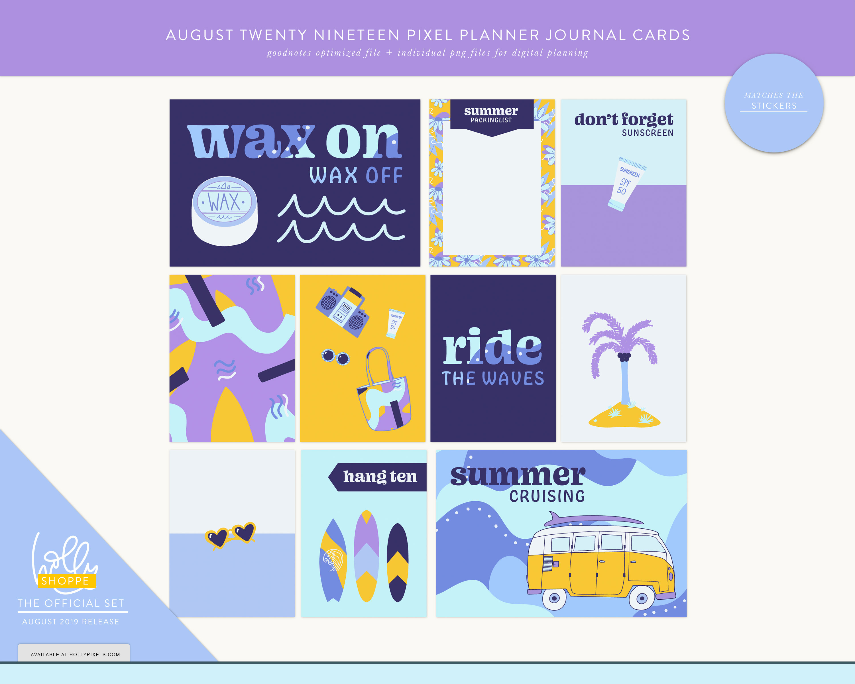 Plan Cute in August with Your Digital Planner 4