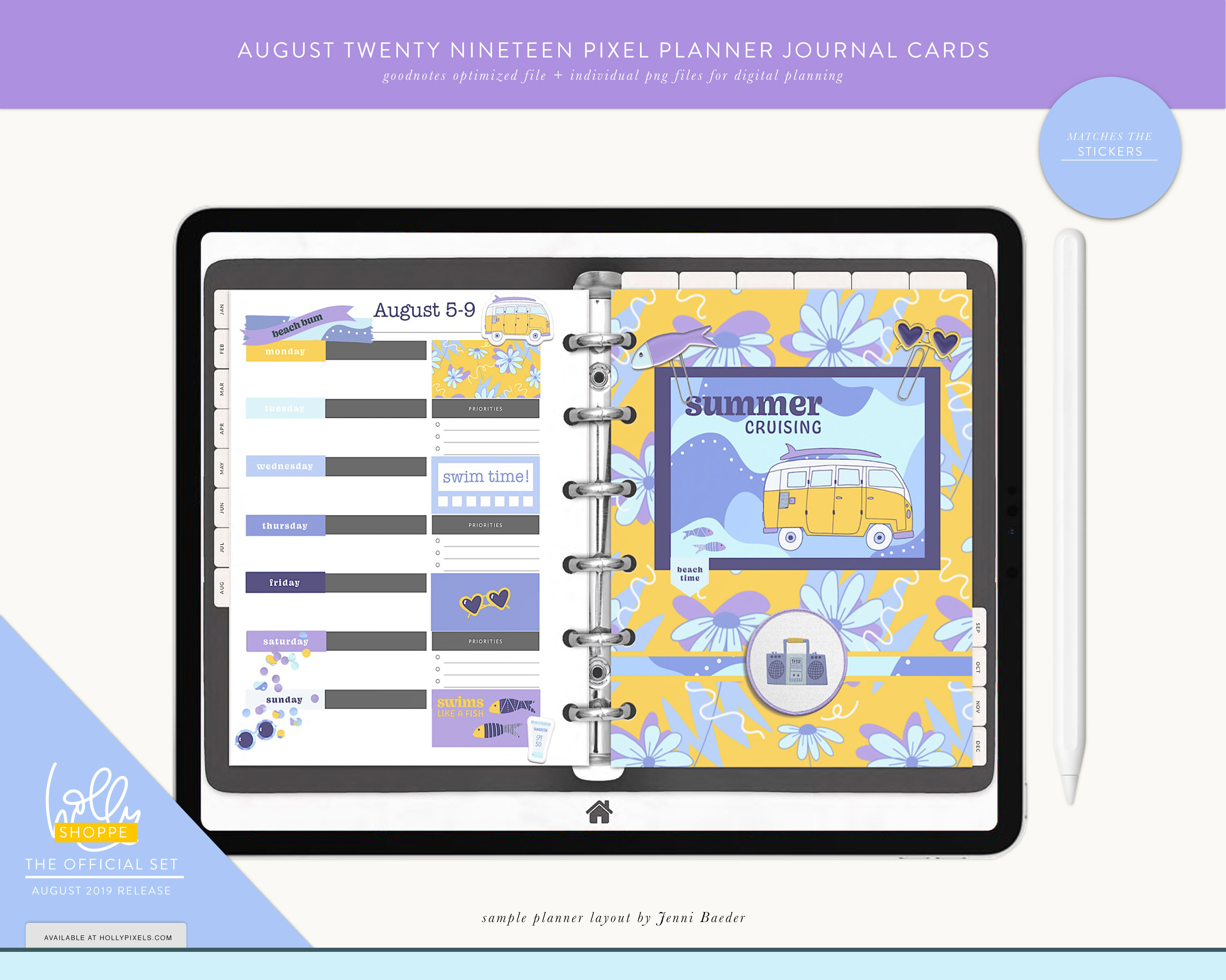 Plan Cute in August with Your Digital Planner 7