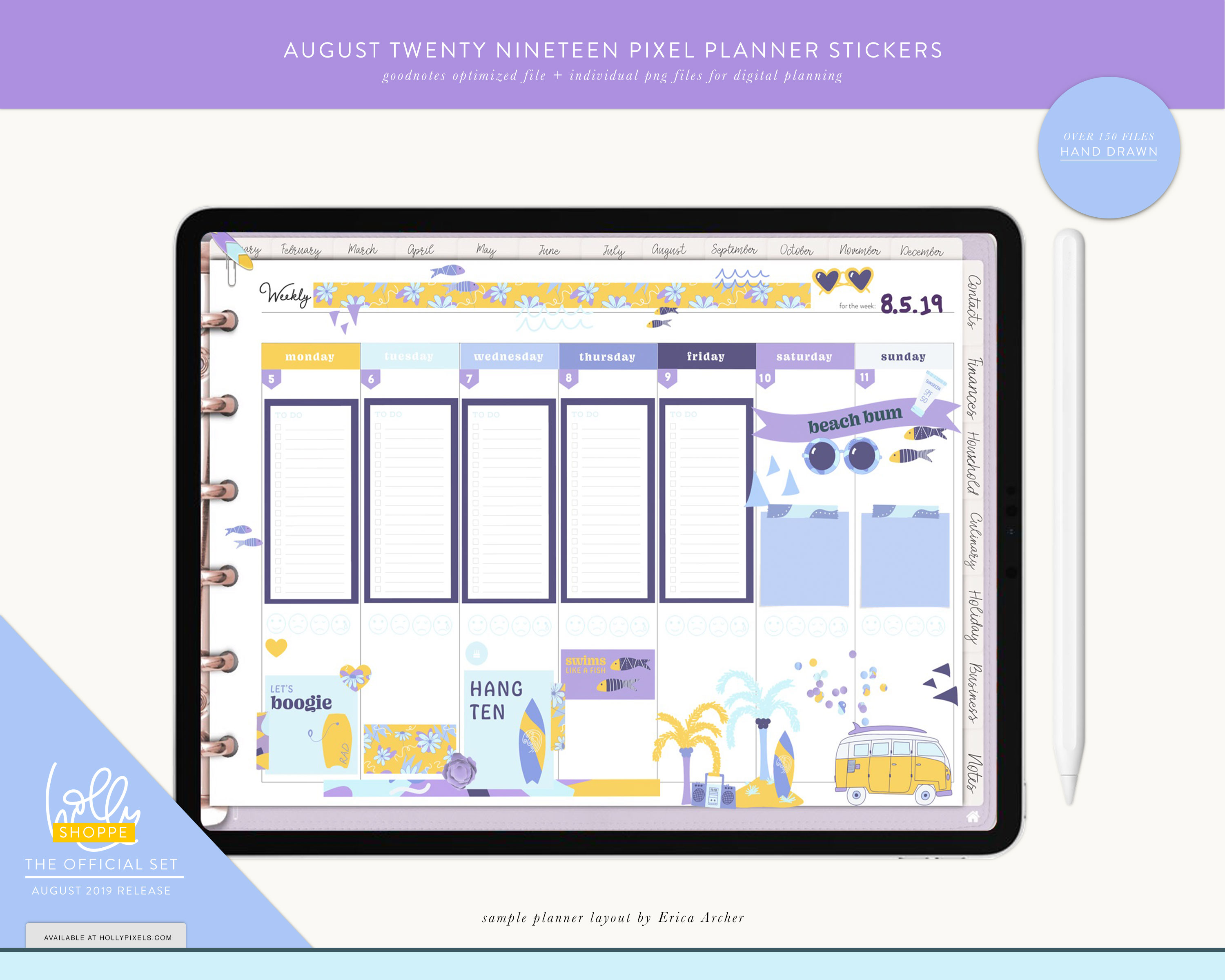 Plan Cute in August with Your Digital Planner 9