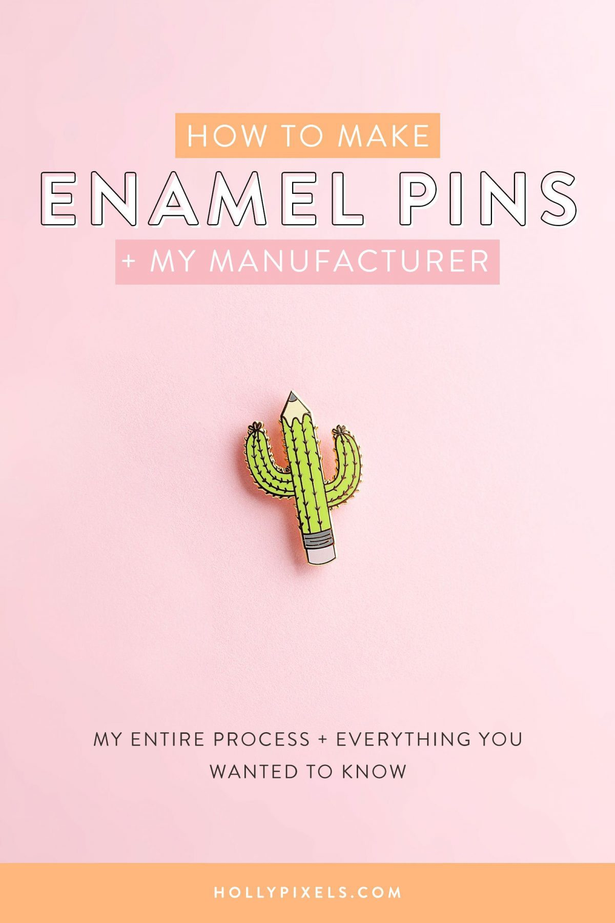 How to Make Enamel Pins From Your Artwork