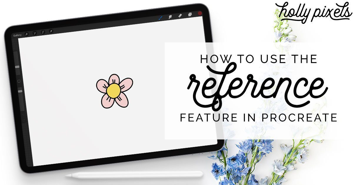Learn how to use the Reference feature in Procreate so you can fill in colors super fast and easily!