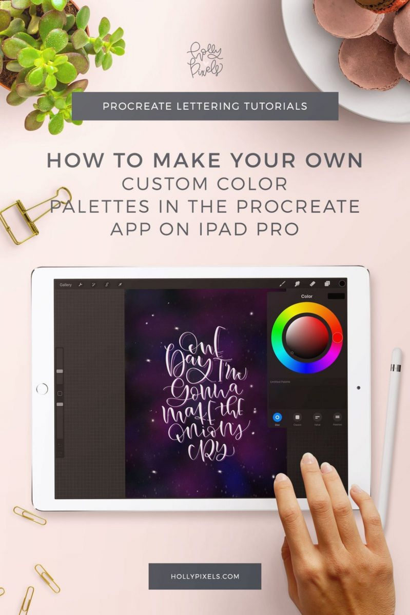 Creating custom color palettes in Procreate can really help you with color choices and keep you from trying to find the best combinations. In today's video, I'm going to show you how I find color inspiration and how I make my own custom color palettes.