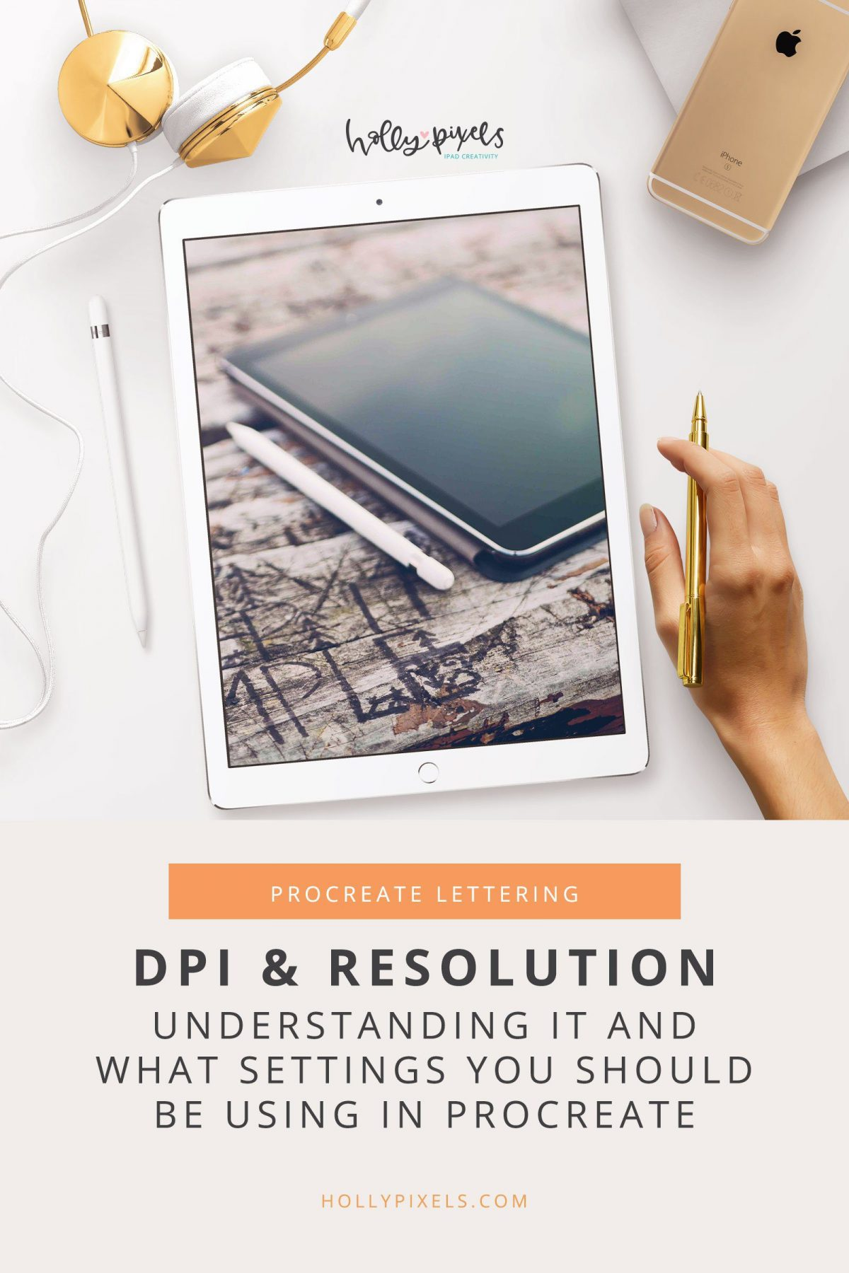 For this week's video I'm tackling the most common question I see asked by Procreate users that don't have a design background: What DPI should I use in Procreate?