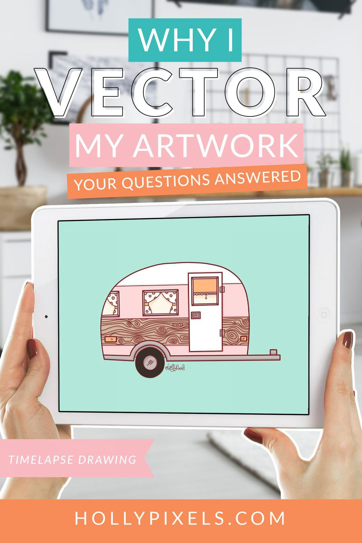 Why I Vector My Work | Why Procreate Isn't My Final Choice for Finished Art 1