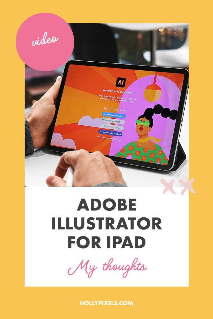 I was so excited that Adobe Illustrator for iPad finally launched. And, I wanted to get you a video review to show you my thoughts on the new app by Adobe for the iPad. But I wanted to also make sure I had made time to really dive into it first.