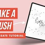 How to Make a Stamp Brush in Procreate Two Ways