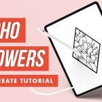 How to Make Pretty Floral Boho Line Art in Procreate